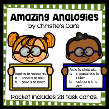 Amazing Analogies Task Cards