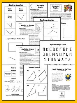 Types of Angles (Classifying Angles)