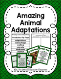 Amazing Animal Adaptations Unit