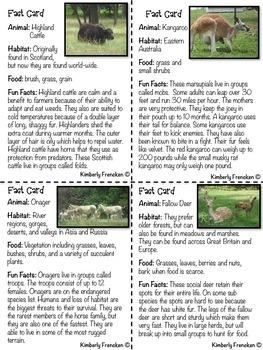 Amazing Animals: Complete Nonfiction Literacy Center