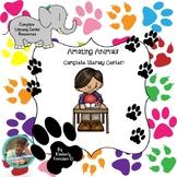 Amazing Animal Facts Complete Literacy Center - Informatio