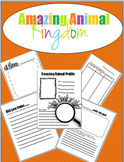 Amazing Animal Kingdom Research Packet