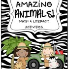 Amazing Animal Math & Literacy Centers