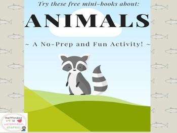 Amazing Animal Mini-Books