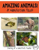 Amazing Animals! A Nonfiction Pack