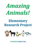 Amazing Animals! Elementary Research Project