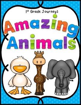Amazing Animals Journeys 1st Grade
