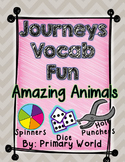 Amazing Animals, Journeys 1st Grade Unit 5 Lesson 22 Vocabulary