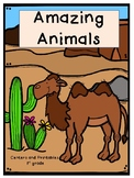 Amazing Animals, Journeys, Centers for all ability levels