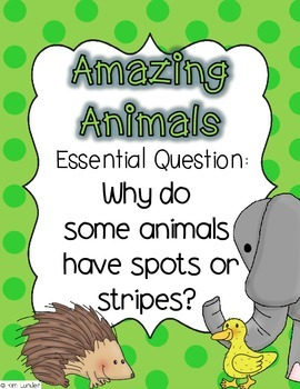 Amazing Animals Journeys First Grade Lesson Plans and Supplemental Materials