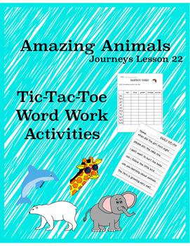 Amazing Animals Journeys Lesson 22