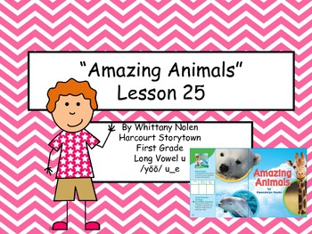 Amazing Animals Storytown Lesson 25