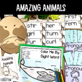 Amazing Animals Supplement Activities Journeys 1st Grade Lesson 22