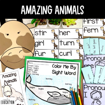 Amazing Animals Supplement Activities Journeys 1st Grade L