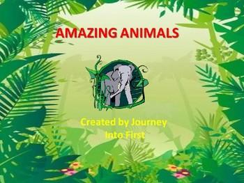 Amazing Animals (Unit 5 Journeys Common Core Reading Series)