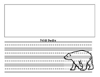 Amazing Animals writing activity