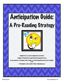 Amazing Anticipation Guide