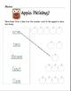 Amazing Apple Number Word Activities