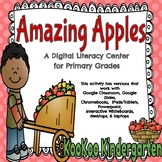 Amazing Apples (CVC Words)-A Digital ELA Center (Compatibl