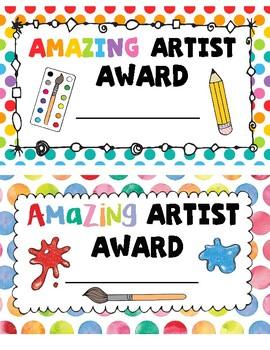 Amazing Artists Awards