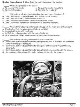 Amazing Astronauts: 5th Grade Reading Prep