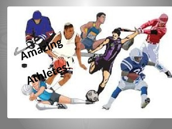 Amazing Athletes PPT