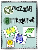Amazing Attributes - Common Core Geometry Unit for grades 1-3
