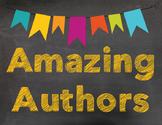 Amazing Authors Title