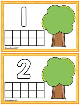 Amazing Autumn! Math Centers for Kindergarten