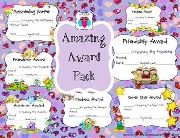 Amazing Award Set