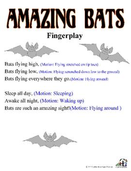 Amazing Bat Fingerplay