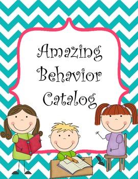 Amazing Behavior Catalog - Bright Chevron