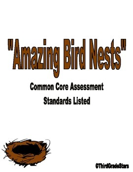 Amazing Bird Nests Assessment Reading Street Third Grade