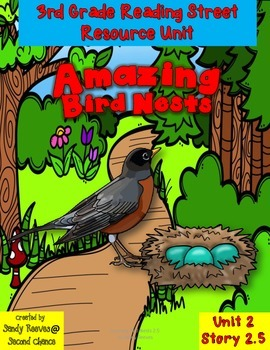 Amazing Bird Nests Reading Street 3rd Grade Resource Pack Unit 2 Story 5