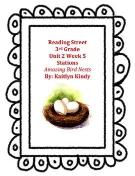 Amazing Bird Nests Reading Street Unit 2 Week 5