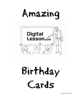 Amazing Birthday Cards Activity