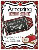 Amazing Classroom Essentials: Sweet Polka Dot Apple Design {BUNDLE}