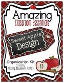 Amazing Classroom Essentials: Sweet Apple Design