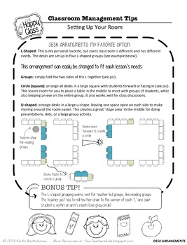 Amazing Classroom Management Tips- Part 1!