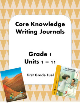 Amazing Core Knowledge Writing Journals