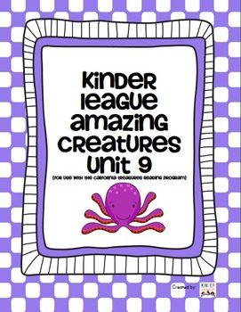 Amazing Creatures - For use with the California Treasures