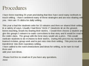 Amazing Daily Writing - Common Core - Personal Response