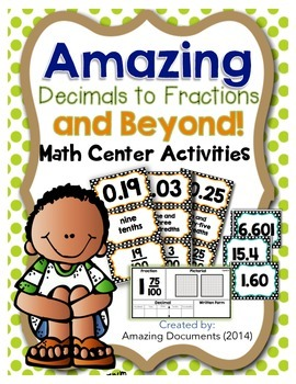 Amazing Decimals to Fractions and Beyond!