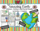 Earth Day Activities: Amazing Earth! Literacy, Science & S