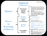 Amazing, Easy-to Understand Argument Brace Map with Examples