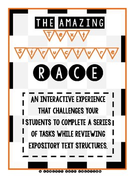 Amazing Expository Text Structure Race