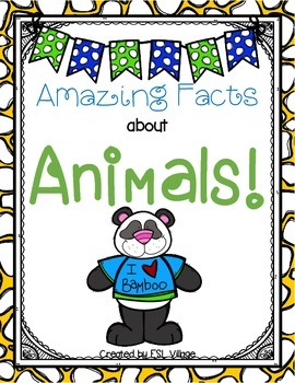 Amazing Animals {Theme Based Activities}