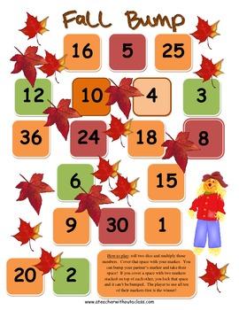 Amazing Fall Math Games