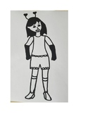FREEBIE! K-4th grade Kimmie paperdoll {set #1, from Amazin