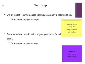 Amazing Goals PowerPoint